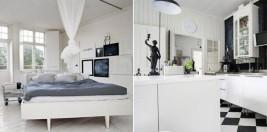 Ideas para una decoración en blanco y negro