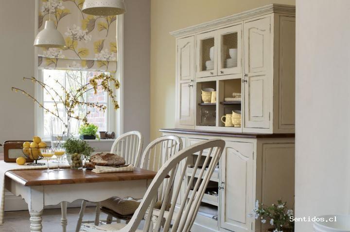 Muebles para una cocina de estilo inglés